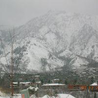 Mt. Olympus under snow, Маунт-Олимпус