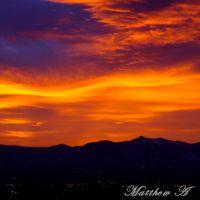 Salt Lake Valley Sunset, Маунт-Олимпус