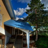 oakridge elementary stair canopy, Маунт-Олимпус