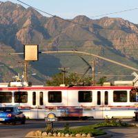 UTA Trax - Salt Lake City, UT, USA., Мидвейл