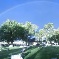 Rainbow at West Jordan Cemetery, Мидвейл