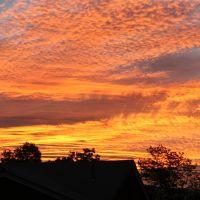 Sunset in Midvale, Ut, Мидвейл