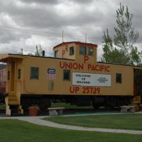 Milford, UT - Visitors Center - Union Pacific Caboose, Милфорд