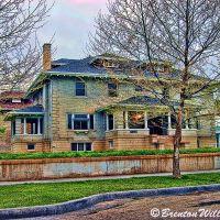 Emil Bratz Home - Jefferson Street Historical District, Огден