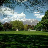 Mt Timpanogos from Orem City Center Park, Орем