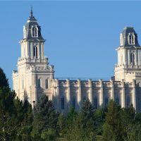 Manti Mormon Temple, Плисант-Гров