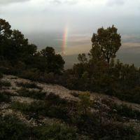 Rainbow over Sanpete Valley, Прик