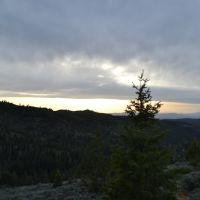 San Pitch Skyline view of Juab County, Прик