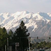 Mt. Timp from BYU, Прово