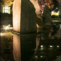 JFSB Fountain at night, Прово