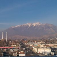 Timp from downtown Provo, Прово