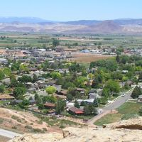 looking down on richfield utah, Ричфилд