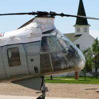"Vertol CH-21C-VL ""Workhorse"" - Hill Aerospace Museum - UT, USA., Рой"