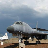 USAF B-1 bomber display at Hill Air Force Base, UT, USA, Рой