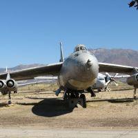 Sweepwinged B-47 Bomber on display at Hill Air Force Base, Utah, Рой
