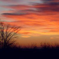Winter Sunrise over Roosevelt, Русвельт