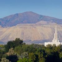 Twin Mormon Temples Panorama, Санди