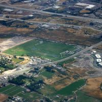 Mulligans Golf Course from Airplane, 2005, Санди