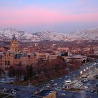 Salt Lake City at Dusk, Саут-Солт-Лейк