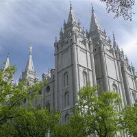 Mormon Temple - Salt Lake, Солт-Лейк-Сити