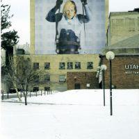 2002 Olympic building wraps, ski sled, Солт-Лейк-Сити