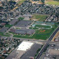 Taylorsville High School Aerial View, 2005, Тэйлорсвилл