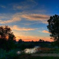 jordan river parkway sunset, Тэйлорсвилл