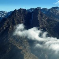 Mount Olympus Mountain Top Aerial View, Холладей
