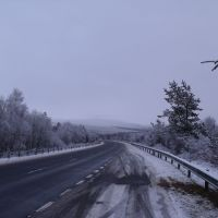 Snow on the A9, Авимор