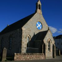 Aviemore: Eglise en construction, Авимор