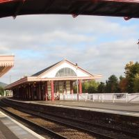 Aviemore Train Station The Highlands OCT. 2013, Авимор