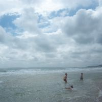 beach at Bournemouth, Борнмут