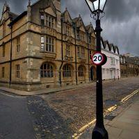 Oxford, Merton Street, Оксфорд