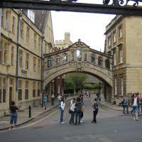 Egyesült királyság, Oxford,sóhajok hídja, Оксфорд