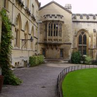 Oxford. 25.08.2007. Balliol College, Оксфорд