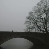 Abingdon Bridge in the fog, Абингдон