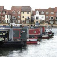 Abingdon Marina, Oxfordshire, Абингдон