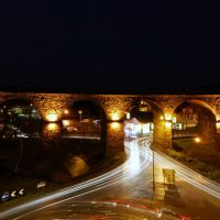 accrington viaduct from arndale roof, Аккрингтон
