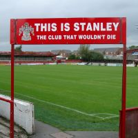 Crown Ground Home of ASFC - Accrington Lancashire England, Аккрингтон