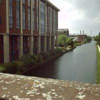bridgewater canal in Broadheath, Алтринчам