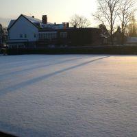snow on bowling green, Алтринчам