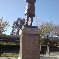 Hugh Mason Statue, West End. Ashton Under Lyne, Lancashire, England, UK, Аштон-андер-Лин