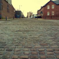Welbeck Street South, Portland Basin, Ashton Under Lyne, Lancashire, England, UK, Аштон-андер-Лин