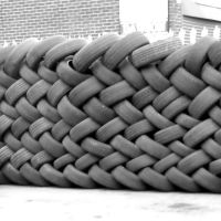 Tyre Dump ,Hill Street, Ashton Under Lyne, Lancashire, England. UK, Аштон-андер-Лин