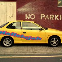 No Parking Zone, Ashton Under Lyne, Lancashire, England, UK, Аштон-андер-Лин
