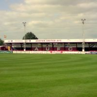 Ashton United AFC, Hurst Cross, Ashton Under Lyne, Lancashire, England. UK, Аштон-андер-Лин