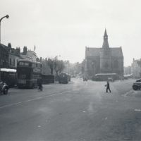 Banbury Town Hall, Bridge Street, Banbury, England, 1954, Банбери