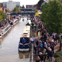 Popular Banbury Canal Day. 7th October 2012, Банбери