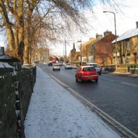 Doncaster Road Barnsley - In Snow, Барнсли