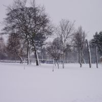 mw32 Locke Park in Winter, Барнсли